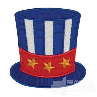 Patriotic Top Hat Pocket