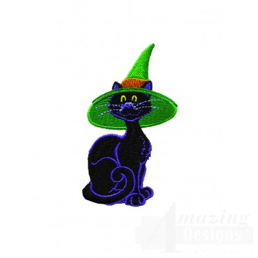 Witch Hat Cat
