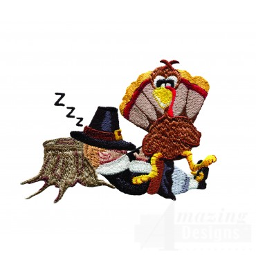 Napping Pilgrim