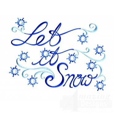 Merry And Bright Let It Snow