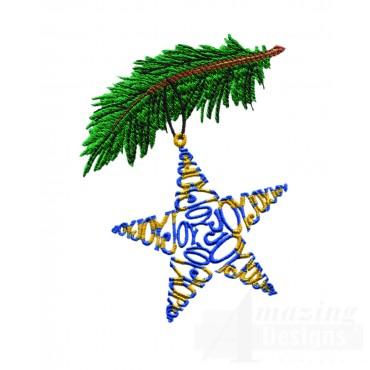 Joy Joy Joy Ornament Embroidery Design