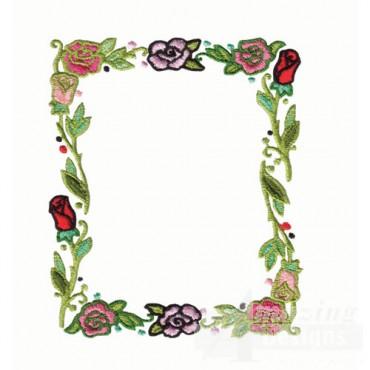 Floral Frame Border