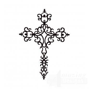 Easter Cross 2 Embroidery Design