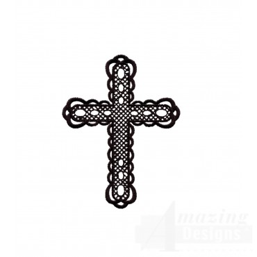 Easter Cross 3 Embroidery Design