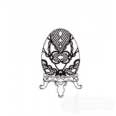 Easter Faberge Egg 3 Embroidery Design