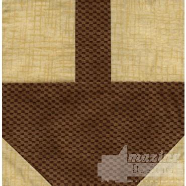 Basket Quilt Block Embroidery Design
