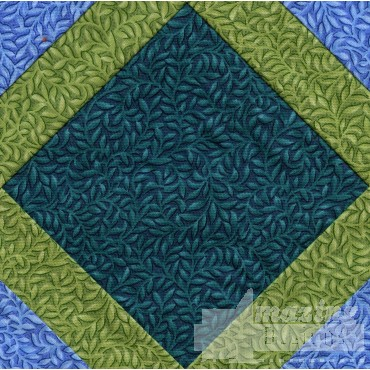 Fancy Square Quilt Block Embroidery Design