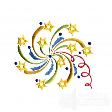 Swirled Streamers