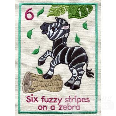 Fuzzy Zebra
