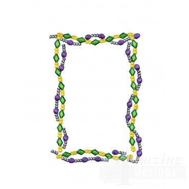 Mardi Gras - Machine Embroidery Designs at Splinters & Threads