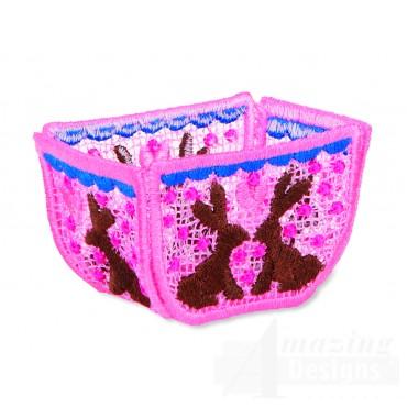 Hoop702 Bunny Basket Embroidery Designs