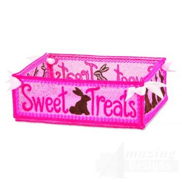 Hoop709 Sweet Treats Basket Embroidery Designs