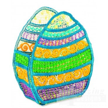 Hoop710 Egg Basket Embroidery Designs