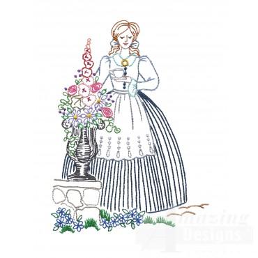 Vl105 Belle With Tea