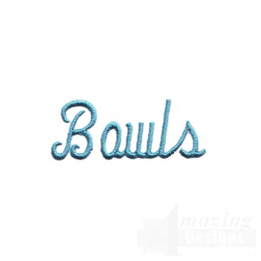 Bowl Lettering