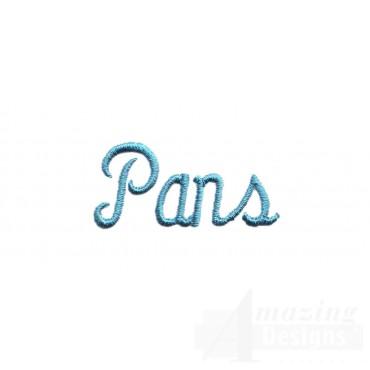Pans Lettering
