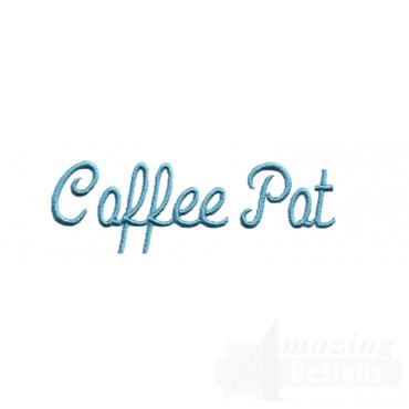 Coffee Pot Lettering