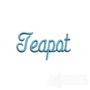 Teapot Lettering