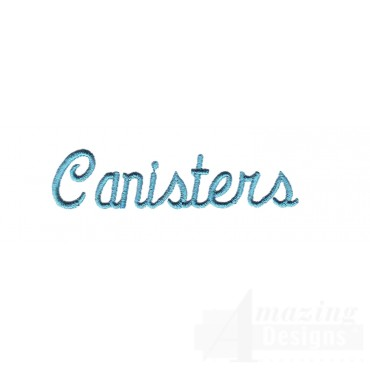 Canisters Lettering