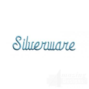 Silverware Lettering