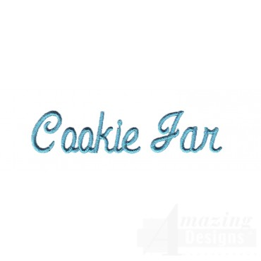 Cookie Jar Lettering