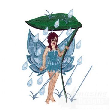 Fairy In Rain