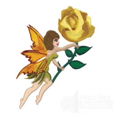 Fairy with Rose