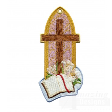 Cross Ith Novelty Bookmark Embroidery Design