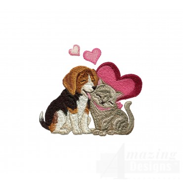 Love113 Puppy Love Embroidery Design