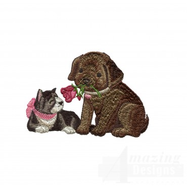 Love115 Puppy Love Embroidery Design
