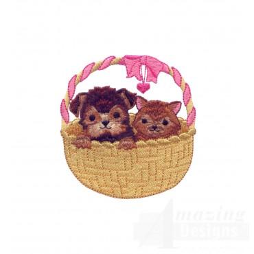 Love119 Puppy Love Embroidery Design