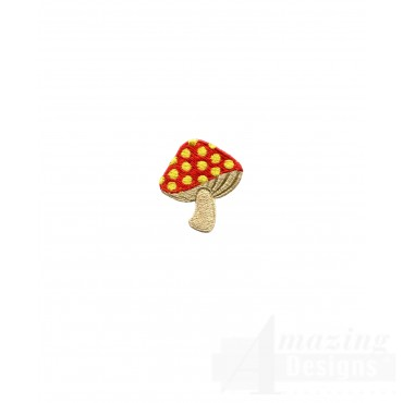 Mushroom Embroidery Design