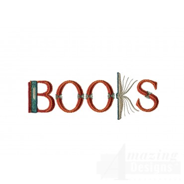 Books Lettering