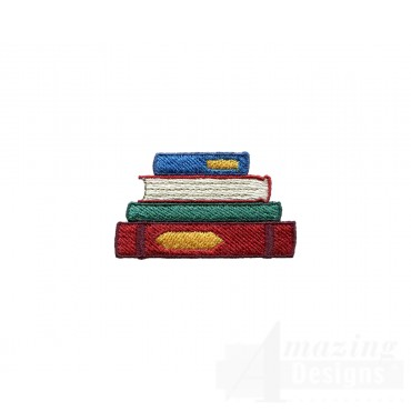 Stacked Books 6
