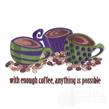 Anything Is Possible Embroidery Design