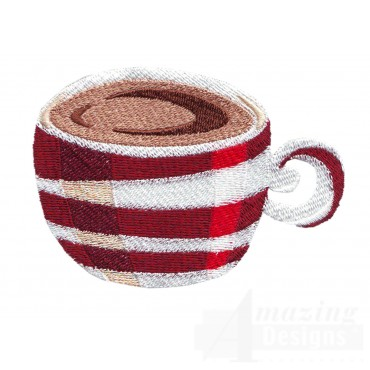Coffee Mug 3 Embroidery Design