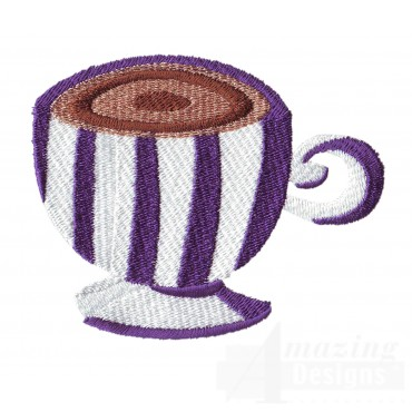 Coffee Mug 4 Embroidery Design