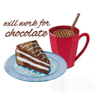 Work For Chocolate Embroidery Designs