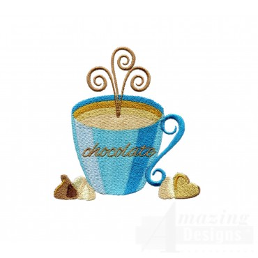 Hot Chocolate Embroidery Designs