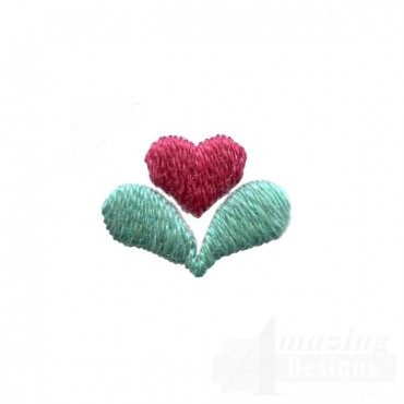 Decorative Plant Heart Folk Art Embroidery Design