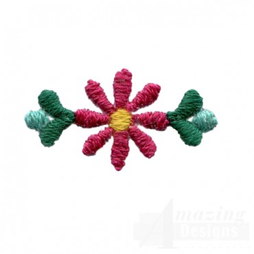 Decorative Flower Folk Art Embroidery Design