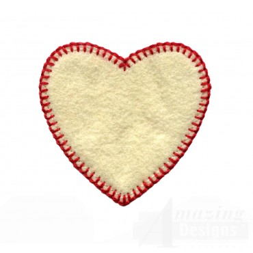 Plain Heart Free Embroidery Design