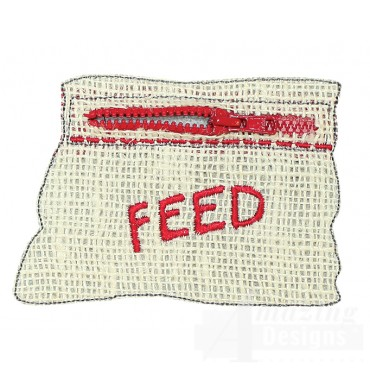 Farm Quiet Book Feedbag