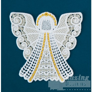 Freestanding Lace Angel 21 Embroidery Design