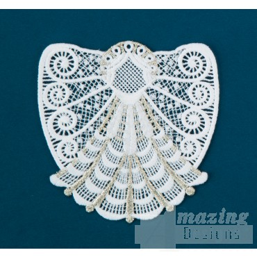 Freestanding Lace Angel 24 Embroidery Design
