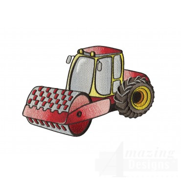 Dirt Roller Embroidery Design