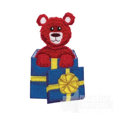 Bear in Gift Box