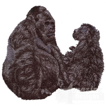 Gorilla with Baby