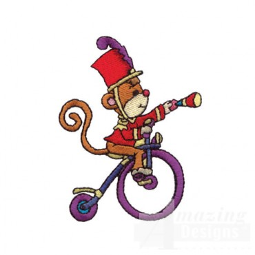 Circus Monkey on Tricycle