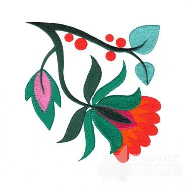 Jacobean Flower 14